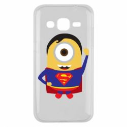 Чохол для Samsung J2 2015 Minion Superman