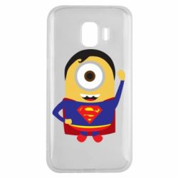 Чохол для Samsung J2 2018 Minion Superman