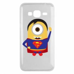 Чохол для Samsung J3 2016 Minion Superman