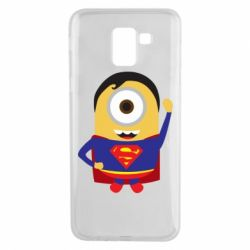 Чохол для Samsung J6 Minion Superman