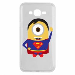 Чохол для Samsung J7 2015 Minion Superman