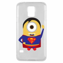 Чохол для Samsung S5 Minion Superman
