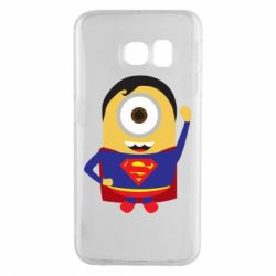 Чохол для Samsung S6 EDGE Minion Superman