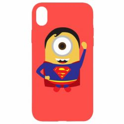 Чохол для iPhone XR Minion Superman