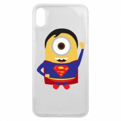 Чохол для iPhone Xs Max Minion Superman