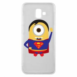 Чохол для Samsung J6 Plus 2018 Minion Superman