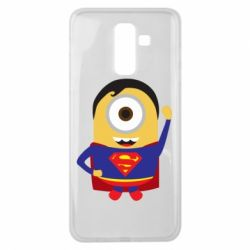 Чохол для Samsung J8 2018 Minion Superman