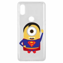 Чохол для Xiaomi Mi Mix 3 Minion Superman