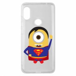 Чохол для Xiaomi Redmi Note Pro 6 Minion Superman