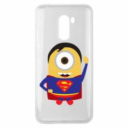 Чохол для Xiaomi Pocophone F1 Minion Superman