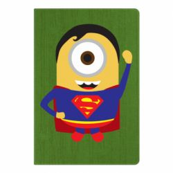Блокнот А5 Minion Superman