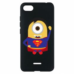 Чохол для Xiaomi Redmi 6A Minion Superman