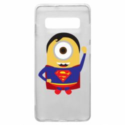 Чохол для Samsung S10+ Minion Superman