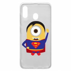 Чохол для Samsung A20 Minion Superman
