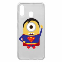 Чохол для Samsung A30 Minion Superman
