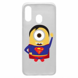 Чохол для Samsung A40 Minion Superman