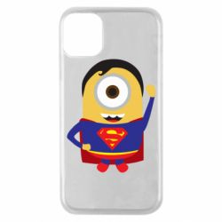 Чохол для iPhone 11 Pro Minion Superman