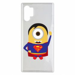 Чохол для Samsung Note 10 Plus Minion Superman