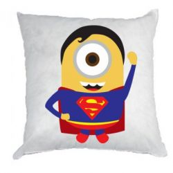 Подушка Minion Superman