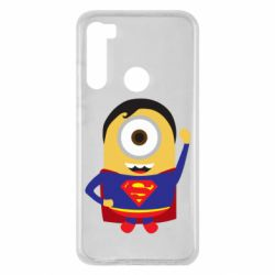 Чохол для Xiaomi Redmi Note 8 Minion Superman
