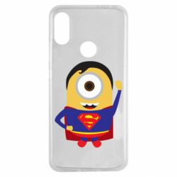 Чохол для Xiaomi Redmi Note 7 Minion Superman