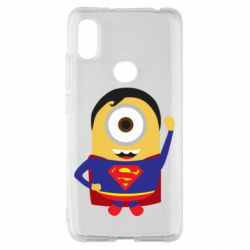 Чохол для Xiaomi Redmi S2 Minion Superman