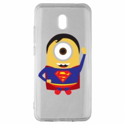 Чохол для Xiaomi Redmi 8A Minion Superman