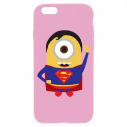 Чохол для iPhone 6/6S Minion Superman