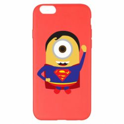 Чохол для iPhone 6 Plus/6S Plus Minion Superman
