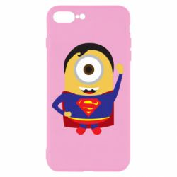Чохол для iPhone 8 Plus Minion Superman