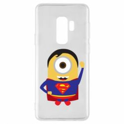 Чохол для Samsung S9+ Minion Superman