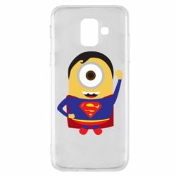Чохол для Samsung A6 2018 Minion Superman
