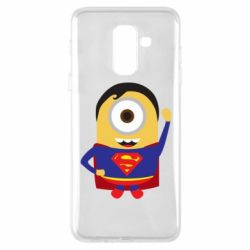 Чохол для Samsung A6+ 2018 Minion Superman