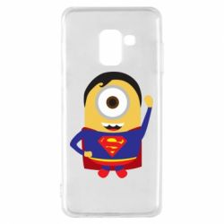 Чохол для Samsung A8 2018 Minion Superman
