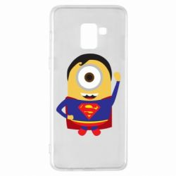 Чохол для Samsung A8+ 2018 Minion Superman