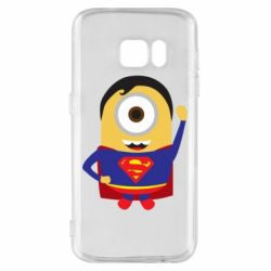Чохол для Samsung S7 Minion Superman