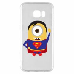 Чохол для Samsung S7 EDGE Minion Superman