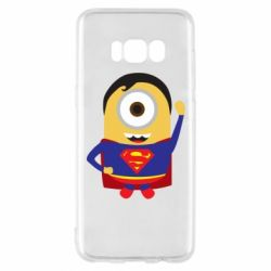 Чохол для Samsung S8 Minion Superman
