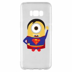 Чохол для Samsung S8+ Minion Superman