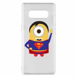 Чохол для Samsung Note 8 Minion Superman