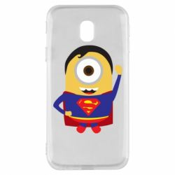 Чохол для Samsung J3 2017 Minion Superman