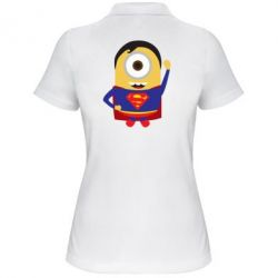 Жіноча футболка поло Minion Superman