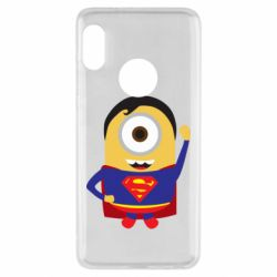 Чохол для Xiaomi Redmi Note 5 Minion Superman