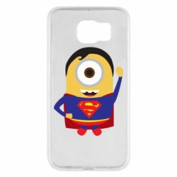 Чохол для Samsung S6 Minion Superman