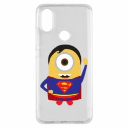 Чохол для Xiaomi Mi A2 Minion Superman