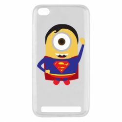 Чохол для Xiaomi Redmi 5a Minion Superman