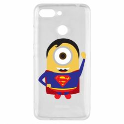 Чохол для Xiaomi Redmi 6 Minion Superman