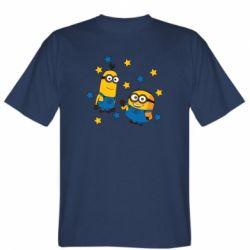 Чоловіча футболка Minions and stars