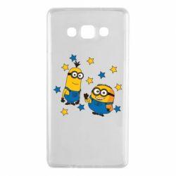 Чохол для Samsung A7 2015 Minions and stars