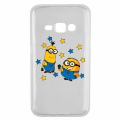 Чохол для Samsung J1 2016 Minions and stars